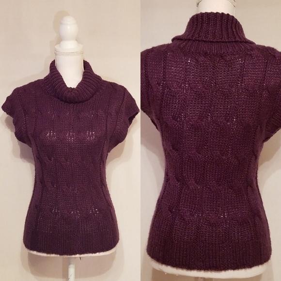 Short Purple Sweater